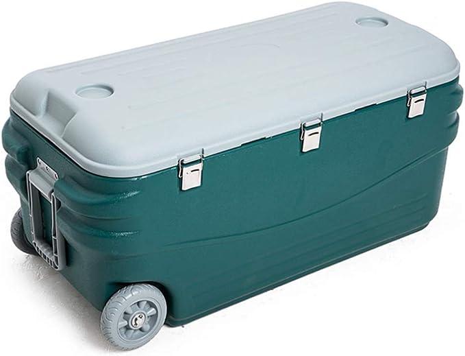 HYRL Caja de refrigeración, compacta y Duradera Caja de Secado al Aire Libre a Prueba de Fugas más Fresca Caja de Aire Fresco Caja de refrigerador de PU Caja de Transporte de