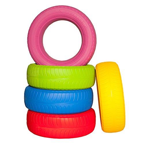 Kidunivers Kidunivers Kidunivers Set 5 Reifen Bunte für Kinder 60 cm 8734d1