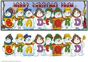 Muñecos de nieve lugar Nombres–Bradford por Sheila Rodgers