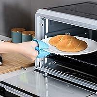 Manoplas para horno, silicona resistente al calor para cocinar ...