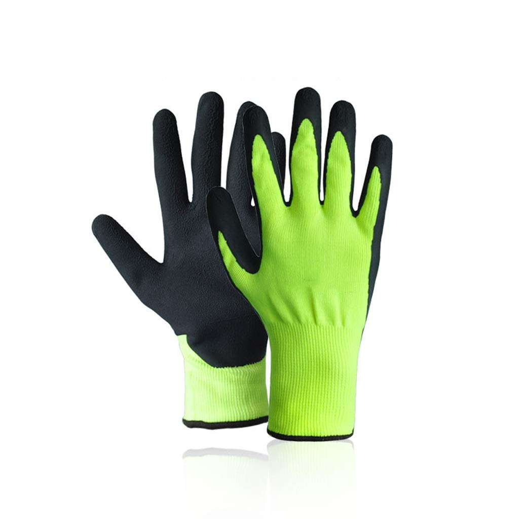 LZRZBH Industrial Gloves,Multipurpose for for Men and Women GardeningWork Gloves, Knit Wrist Cuff, Medium Fit Most (2 Pair)