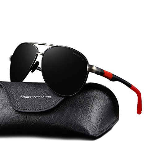 88f0589efd MERRY S Men Classic Brand Sunglasses HD Polarized Driving Sun Glasses S8404  - Buy Online in UAE.
