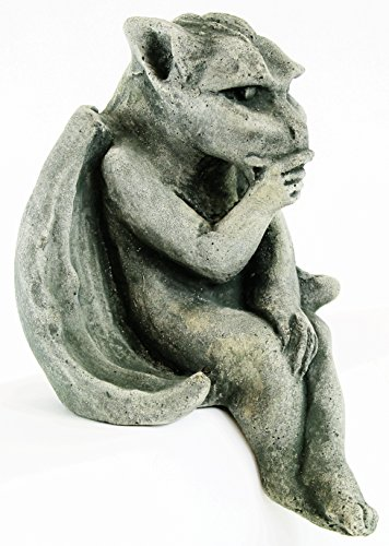 Sitting Gargoyle Home and Garden Statues Concrete Yard Art