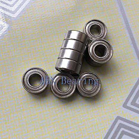 SMR106zz SMR106 6x10x3 mm Stainless Steel 440c Ball Bearing Bearings 10pcs