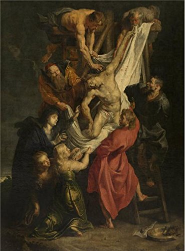 oil-painting-peter-paul-rubensdescent-from-the-cross1577-1640-12-x-16-inch-30-x-41-cm-on-high-defini