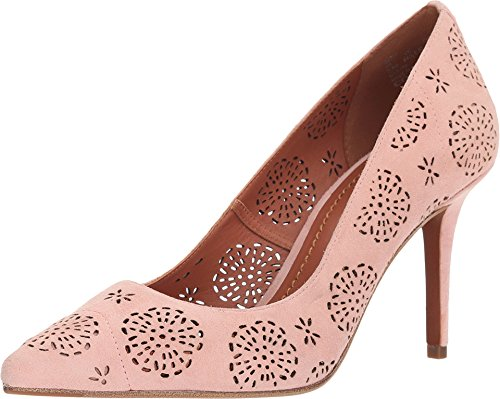 Coach Women's Waverly Tea Rose Cut Out Pump Peony 8.5 M US