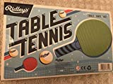 NEW RIDLEY'S TABLE TENNIS PING PONG GAME INCL BALLS, NET, 2 BATS - TOYS / GAMES