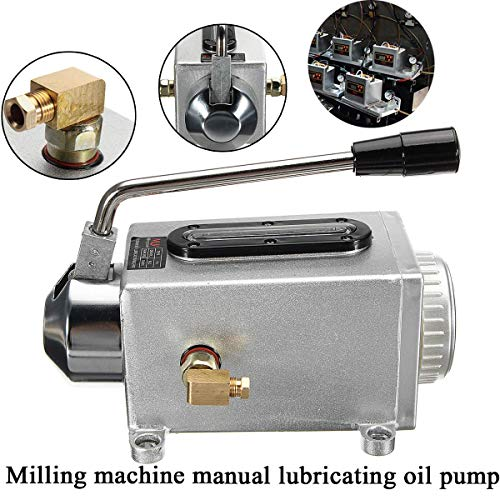 Chrysanemu Light Y-8 Hand Operated Manual Pump Lubrication Punching Pump Oil Machine Machine Oiler