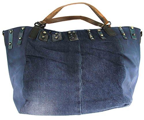Suri 10612 Sintético Para 900 De Bolso Tela Mujer Azul Frey Material UwUrxA5H