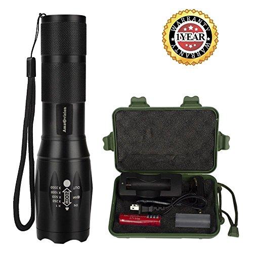 9v Xenon Flashlight - 9