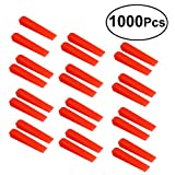 OUNONA 1000Pcs Tile Leveling System Wedges Professional Anti lippage Tile Leveling Wedges Red Small Wall Floor Flat Tile Leveling System