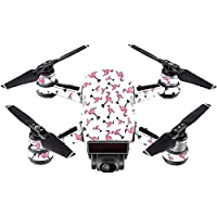 Skin For DJI Spark Mini Drone – Cool Flamingo | MightySkins Protective, Durable, and Unique Vinyl Decal wrap cover | Easy To Apply, Remove, and Change Styles | Made in the USA