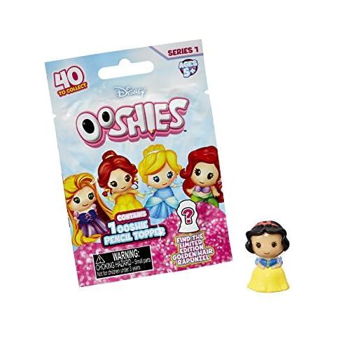Ooshies Sachet Mystère - 1 figurine Princesses Disney - embouts pour stylo crayon feutre - Modèle aléatoire
