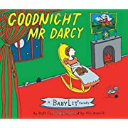 Goodnight Mr. Darcy: A BabyLit Parody Board Book (BabyLit Books)