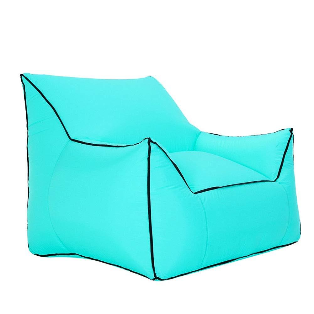 vert Big Plein Air Pliant Gonflable Canapé Chaise Voyage Sac Pique-nique Camping Plage (Couleur   noir, Taille   Moderate)