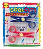 ALEX Toys - Artist Studio Cool Cuts Safety Scissors-Zig Zag and Waves 307
