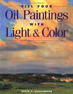 fill your oil paintings with light color - Painting Color Book