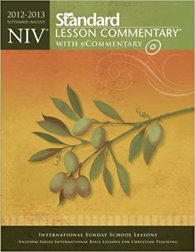 Niv Standard Lesson Commentary With Ecommentary 2012 2013