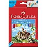EcoLápis com 36 Cores, Faber-Castell 120136G, Grafite