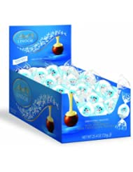 LindtLindorTruffles,60粒美国产瑞士莲雪人牛奶白巧克力软心球折后$15.3