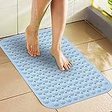 Non Slip Bath Mat/Household Toilet Mats/Shower Bath Mats/Bathroom Mats D  40x100cm(16x39inch)