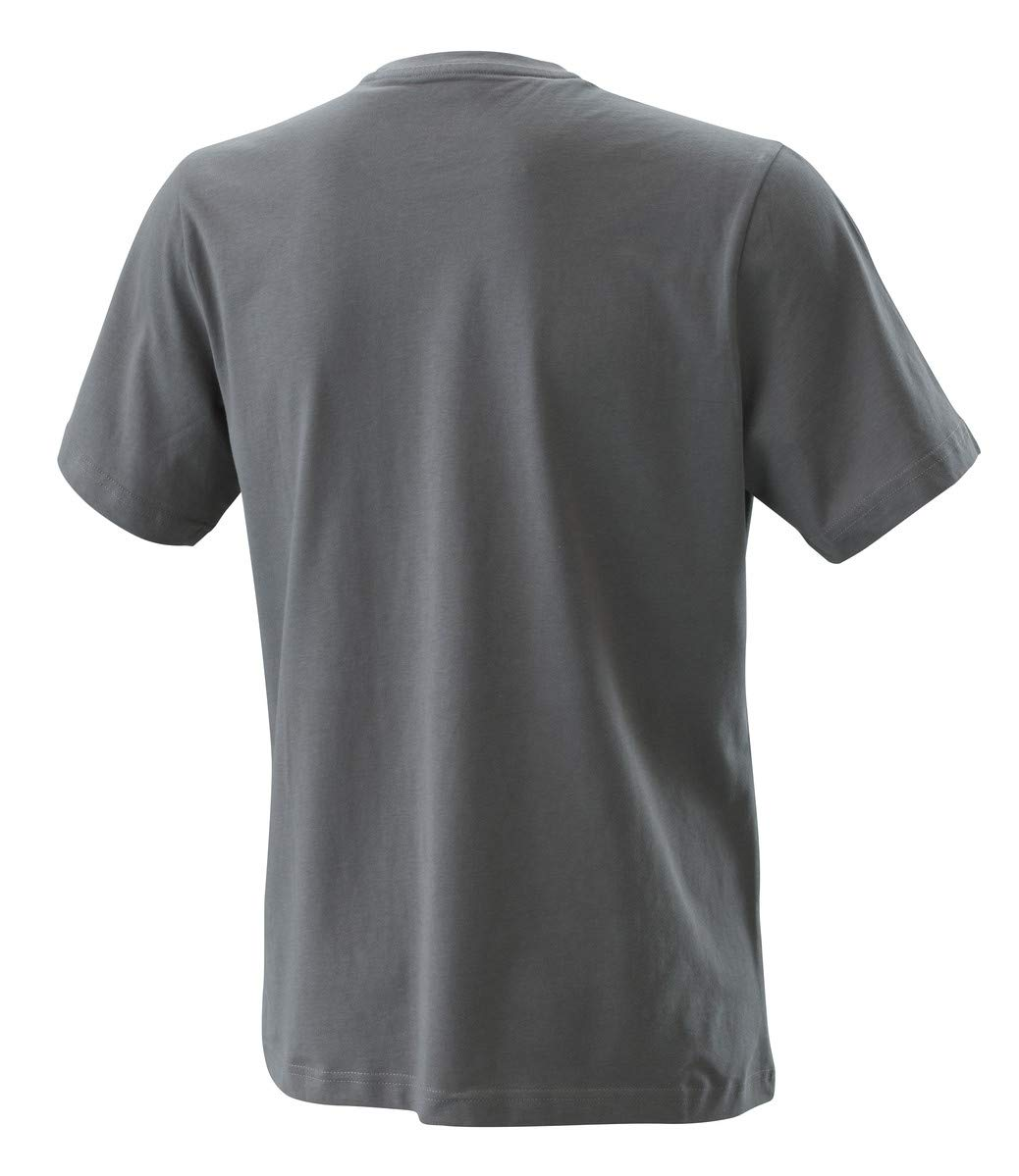 GREY NEW KTM RADICAL LOGO TEE MEDIUM