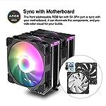 Vetroo-U6-Dual-Tower-CPU-Cooler-w-120mm-Addressable-RGB-PWM-Fan-6-Direct-Contact-Heatpipes-CPU-Air-Cooler-for-Intel-LGA-1200-115X-AMD-Ryzen-AM4