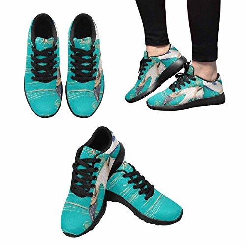 Scarpe Da Corsa Trail Running Da Donna Jogging Leggero Sportivo Da Passeggio Sneaker Da Ginnastica Vintage Ancora Multi 1