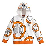 Star Wars BB-8 Hoodie for Boys - Star Wars: The Force Awakens Size 5/6 White