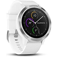 GARMIN - Smartwatch GARMIN Vivoactive 3 1,2' GPS Waterproof 5 ATM Glonass White Stainless steel (Renewed)