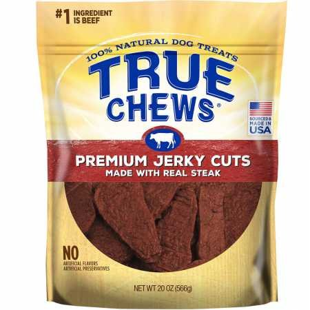 True Chews Premium Jerky Cuts Dog Treats, Sirloin Steak, 22 Ounce