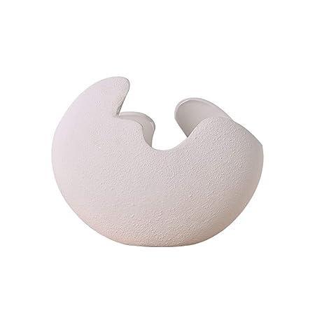 Centro de mesa decorativo HUIQI Jarrón de cerámica Nordic ...