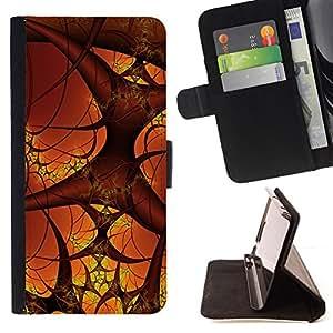 - ART HUMAN BLOOD BODY COSMOS MICRO VESSELS - - Prima caja de la PU billetera de cuero con ranuras para tarjetas, efectivo desmontable correa para l Funny House FOR Samsung Galaxy S6 EDGE