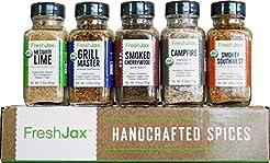 FreshJax Smoked Spices Gift Set, (Set of...