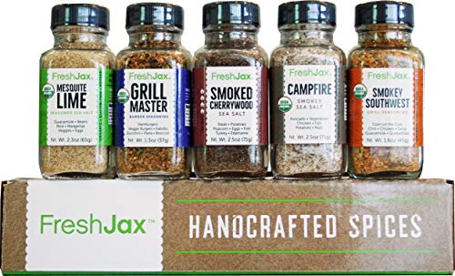 FreshJax Smoked Spices Gift Set, (Set of 5) (Best Gifts From Florida)