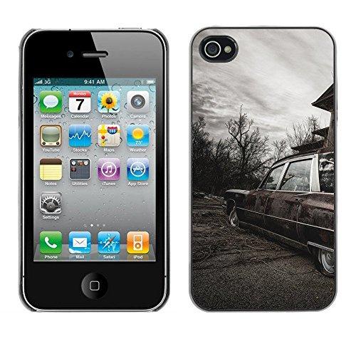 Premio Sottile Slim Cassa Custodia Case Cover Shell // F00003443 abandon abandonné // Apple iPhone 4 4S 4G