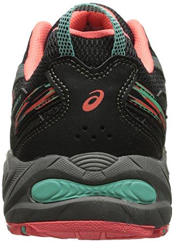 ASICS Women's Gel-venture 5 Running Shoe, Black/Aqua Mint/Flash Coral, 6 M US by ASICS (Image #2)