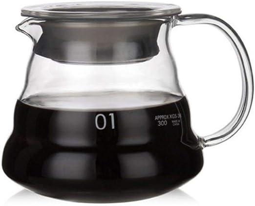Moka Pot, MMKICC V60 a prueba de calor Verter sobre la estufa de ...