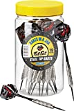 Fat Cat Darts in a Jar: Steel Tip Darts with Storage/Travel Container, 19