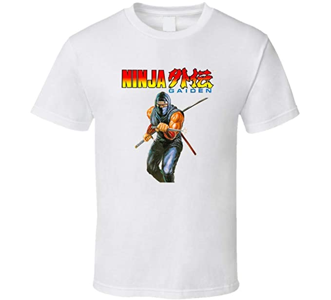 Amazon.com: Ninja Gaiden NES Box Art Retro Video Game T ...