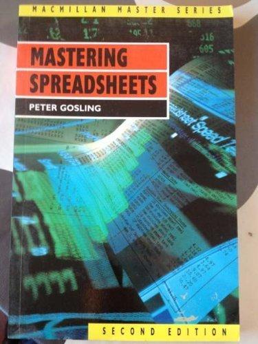 Mastering Spreadsheets (Palgrave Master Series)