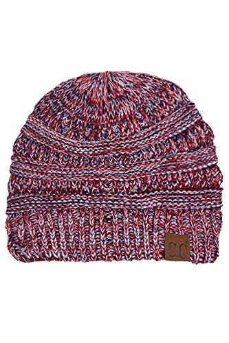 ScarvesMe Trendy Warm Chunky Soft Stretch Cable Knit Beanie