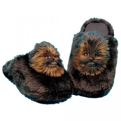 Star Wars Chewbacca Small Slippers  7 8