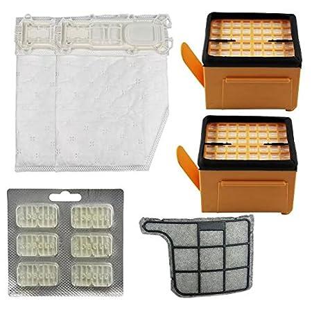 Bolsa de polvo kit de filtros de repuesto para Vorwerk Kobold ...