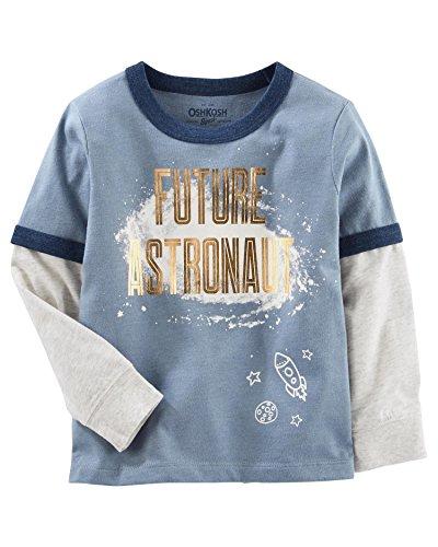 OshKosh B'Gosh Little Boys' Layered-Look Graphic Tee, 3-Toddler