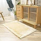 Ashler Soft Faux Sheepskin Fur Chair Couch Cover