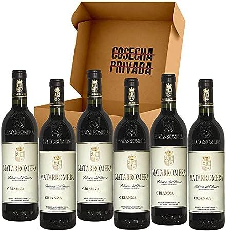 Matarromera Crianza - 6 Botellas - Vino Tinto - Ribera del Duero - Seleccionado y enviado por Cosecha Privada
