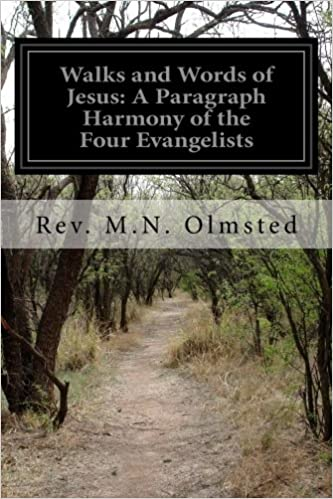 Walks and Words of Jesus: A Paragraph Harmony of the Four