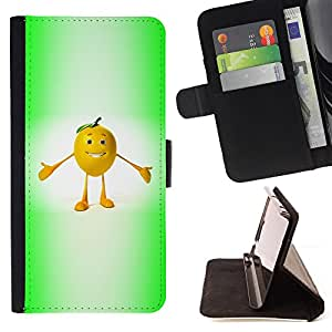 - Funny Chill Fruit/ Personalizada del estilo del dise???¡¯???¡Ào de la PU Caso de encargo del cuero del tir???¡¯????n del s - Cao - For Samsung Galaxy S4