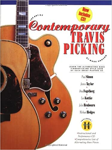 Amazon The Art Of Contemporary Travis Picking 0752187725886 Mark Hanson Books